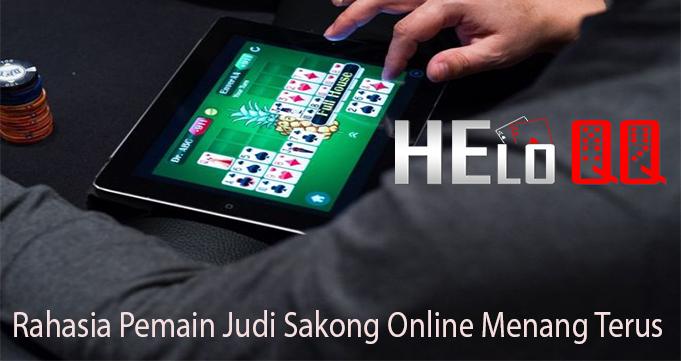 Rahasia Pemain Judi Sakong Online Menang Terus